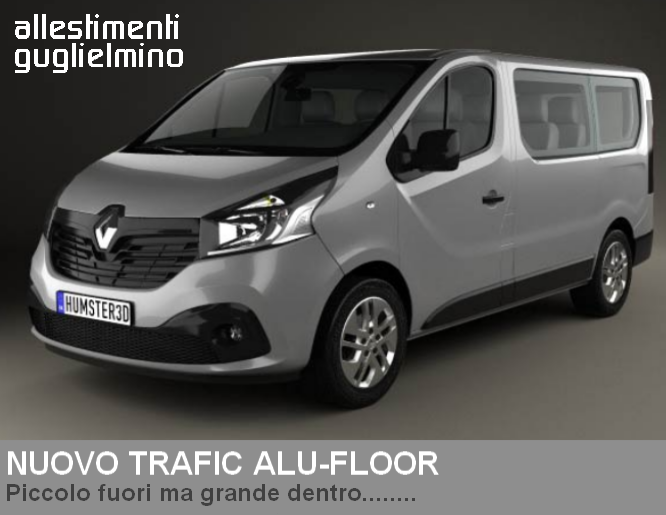 Renault Trafic Allestimento Disabili Alu-Floor
